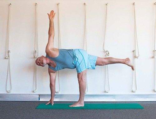 Why do balancing poses in yoga?